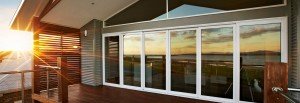 Glass-aluminium sliding system